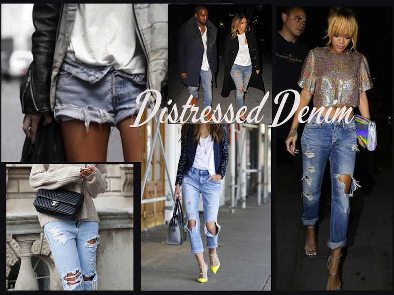 Distressed Denim Small