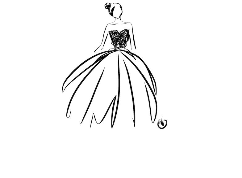 fashion-design-sketches-black-and-white