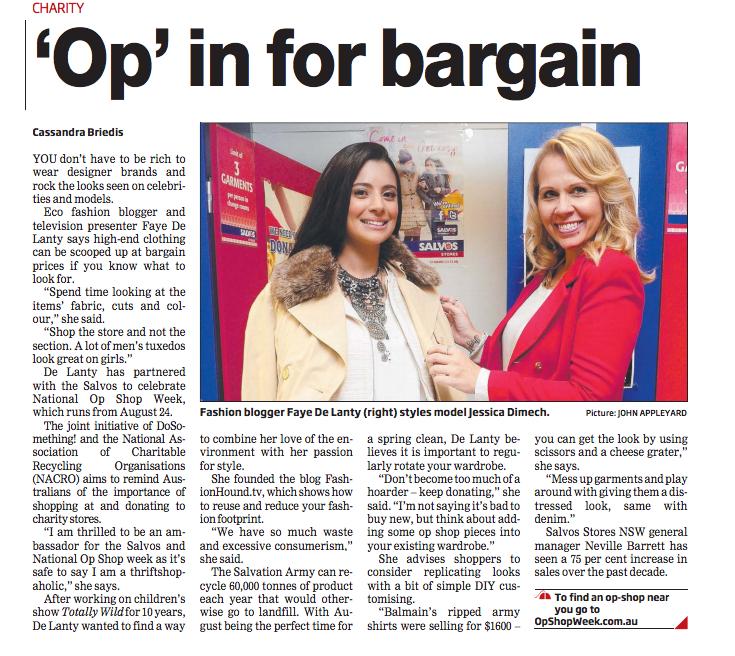 'Op' in for bargain