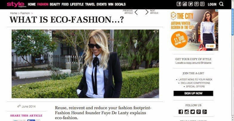 What is Eco-Fashion?