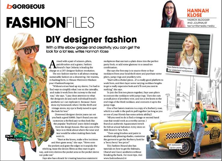 DIY Designer Fashion