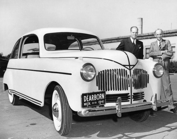 Henry Ford and his Hemp Car!